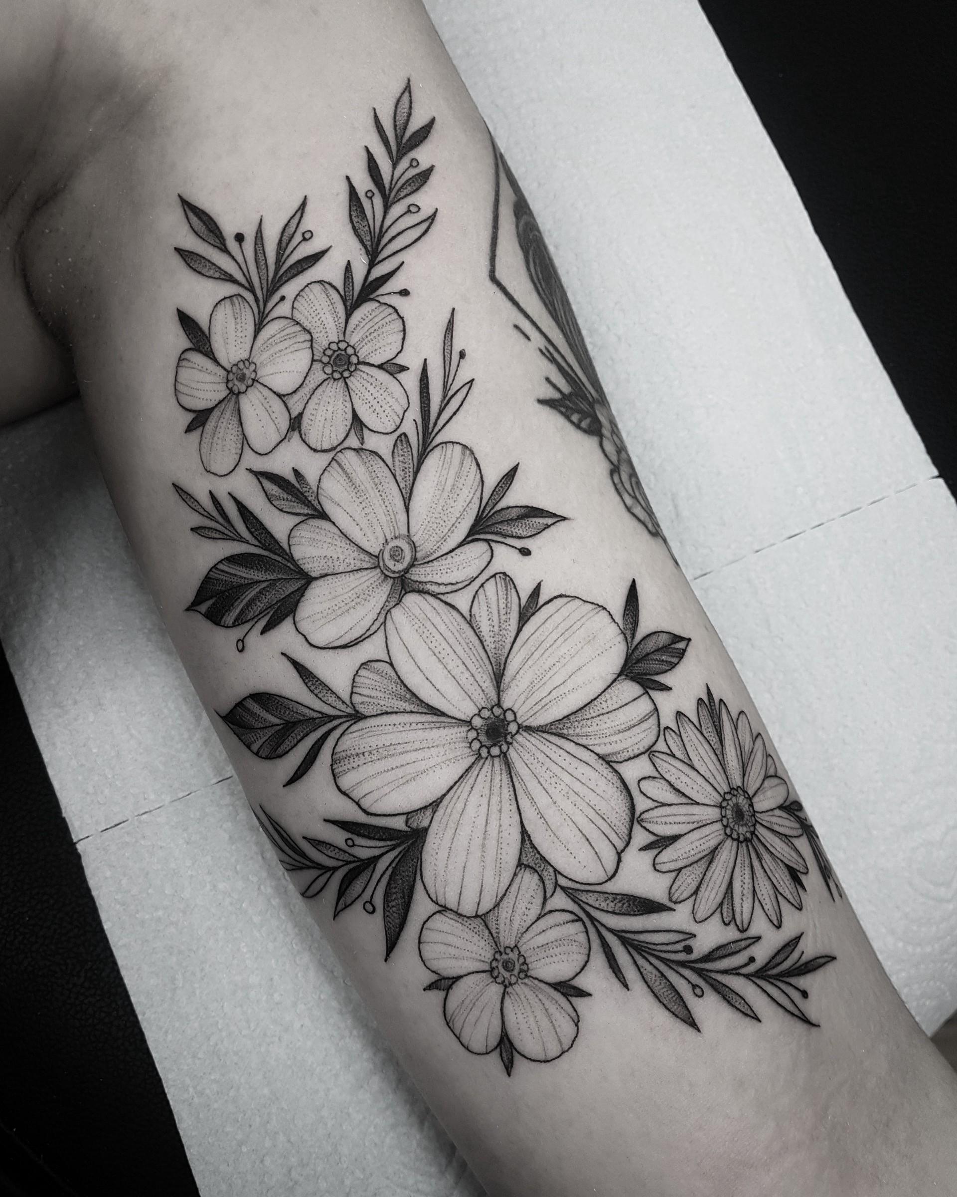 As Tatuagens Florais Mais Incriveis De Todas Parte 2 Blog Tattoo2me