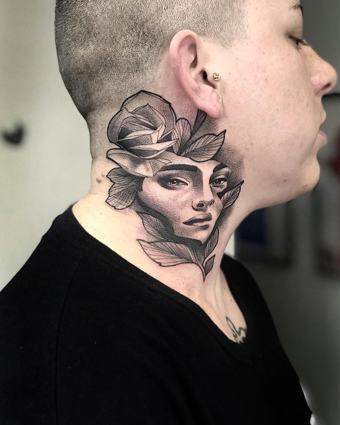 Tatuagem No Pescoco Qual O Significado Blog Tattoo2me Guilherme sempre gostou de música. tatuagem no pescoco qual o significado