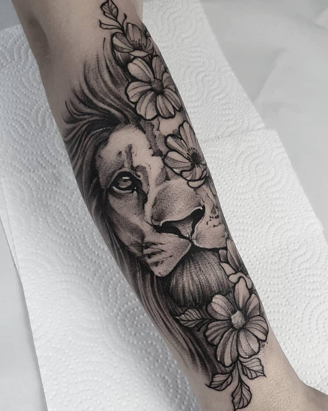 Você conhece o significado da tatuagem de Leão? - Blog Tattoo2me