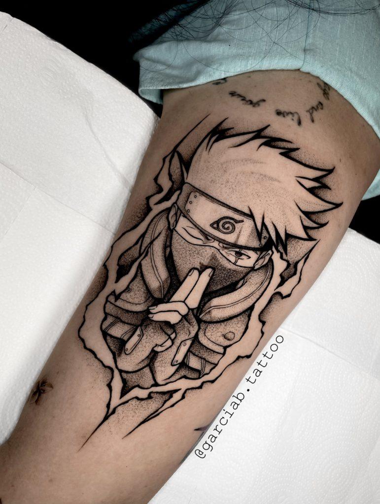 Foto de tatuagem feita por Bernardo Garcia (@garciab.tattoo)