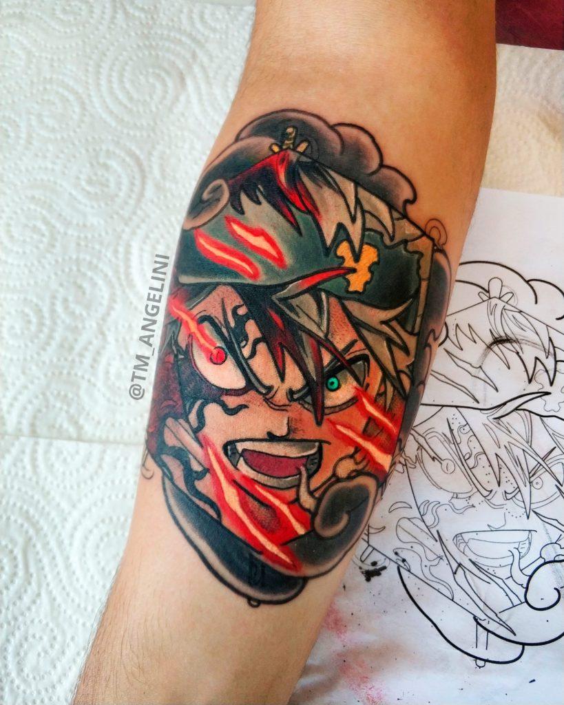 Foto de tatuagem feita por Thiago M. Angelini (@tm_angelini)