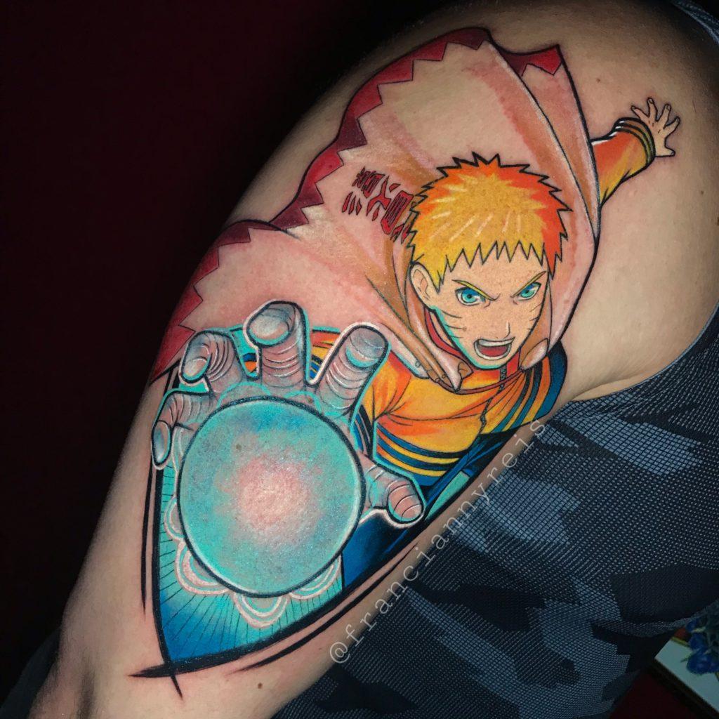 Foto de tatuagem feita por Francianny Reis (@franciannyreis)