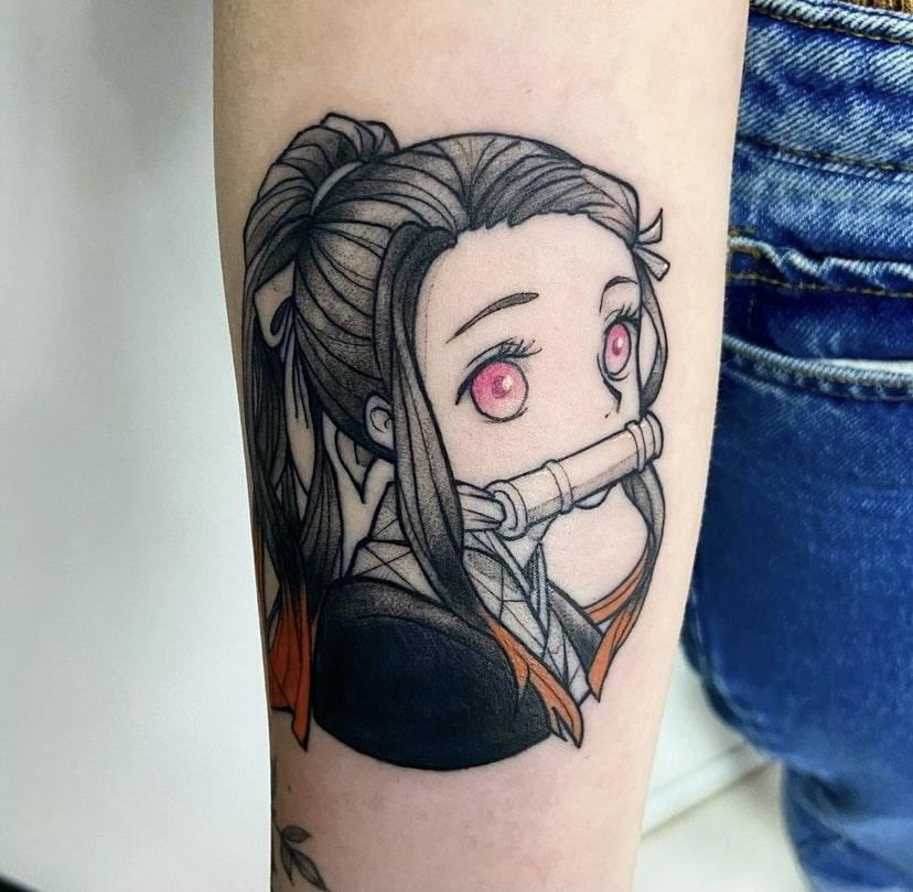 Foto de tatuagem feita por Andreia Mine (@andreiamine)