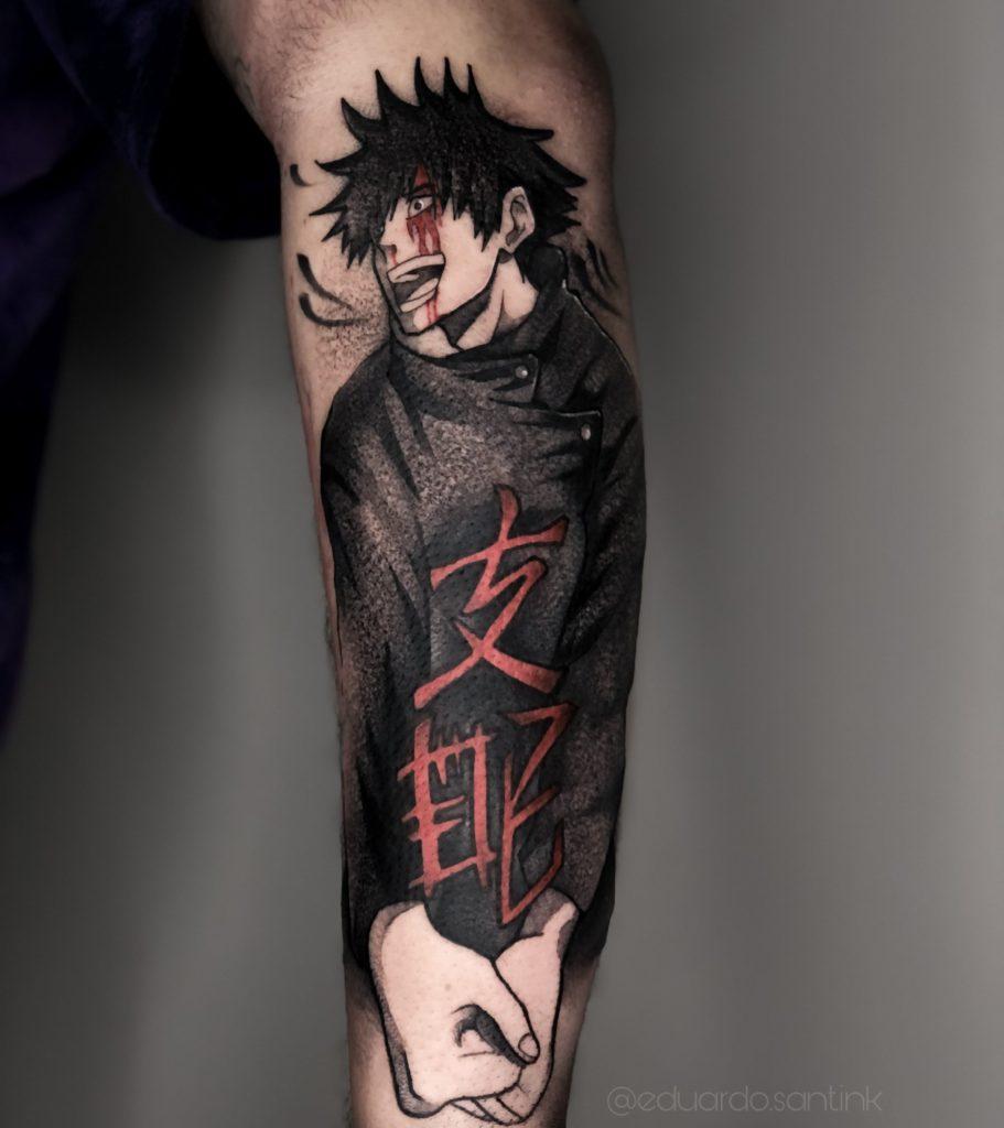 Foto de tatuagem feita por Eduardo Bittencourt (@eduardo.sant.ink)