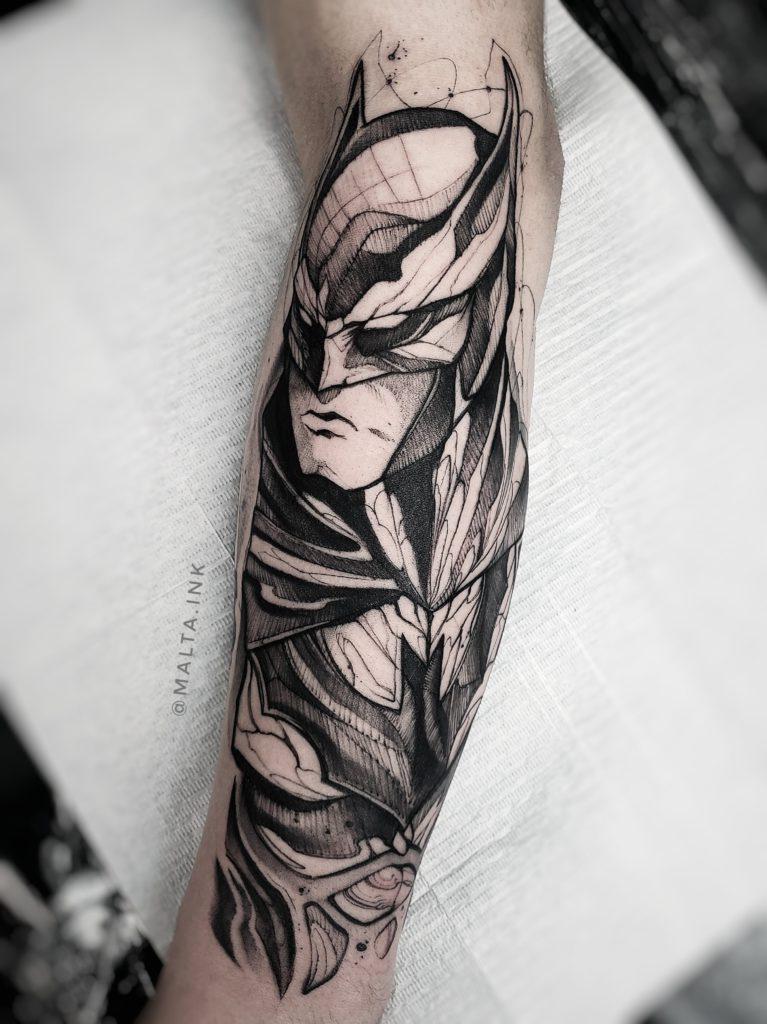 Foto de tatuagem feita por Gabriel Malta (@malta.ink)