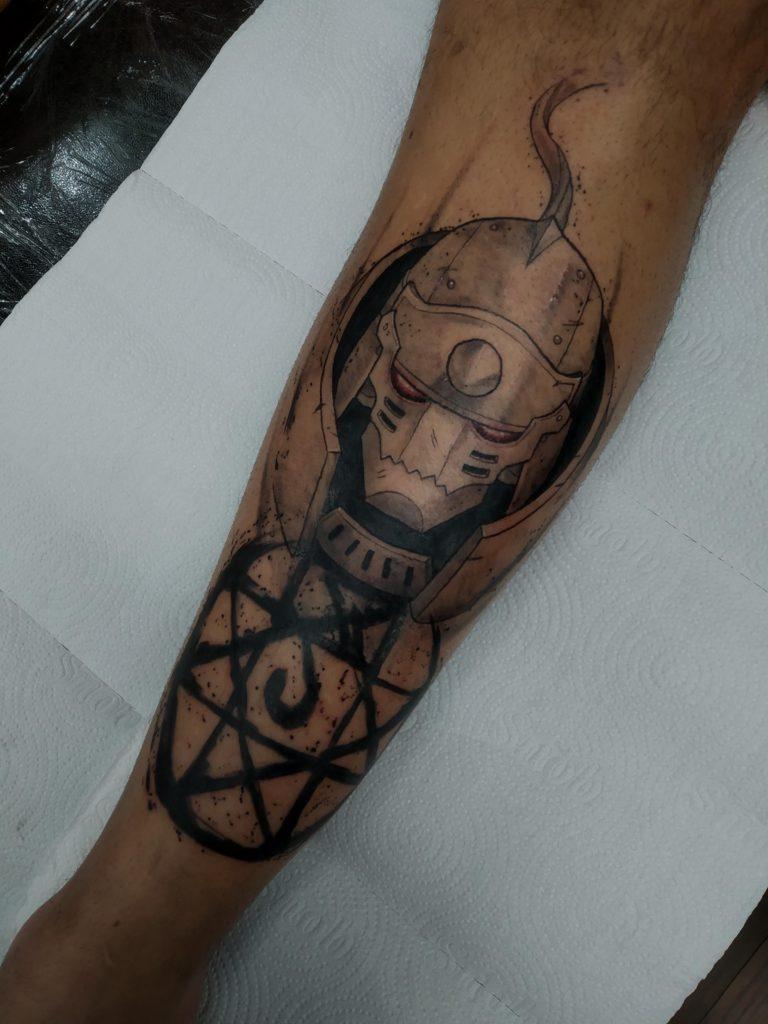 Foto de tatuagem feita por Rafael Mássimo (@rafaelmassimo)