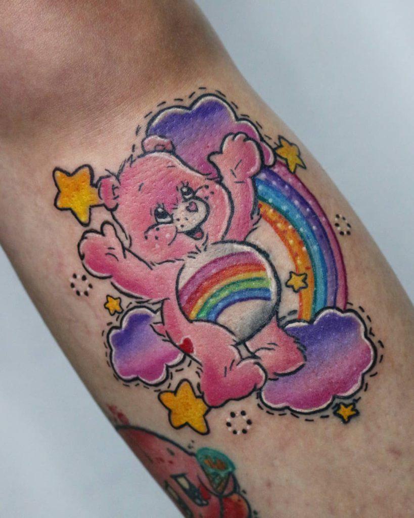 Foto de tatuagem feita por Júlia Sincero (@jusincero)