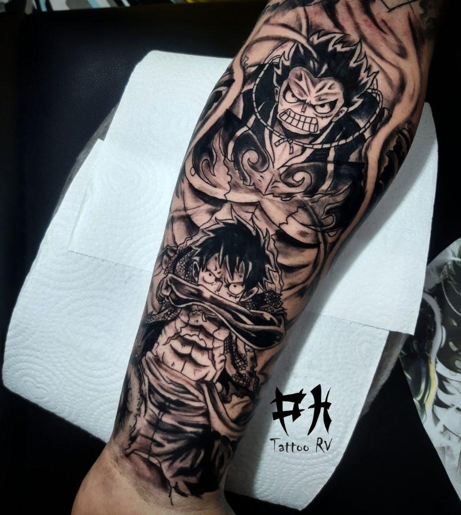 Foto de tatuagem feita por PH Tattoo RV (@phtattoorv)