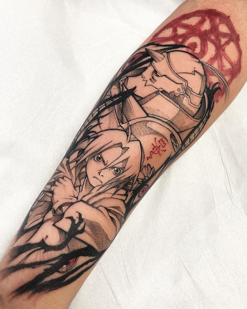 Foto de tatuagem feita por Fábio Mattos Vogler (@fabio.vogler)