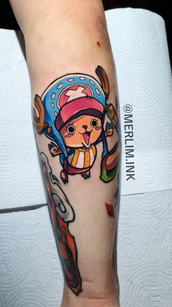 Foto de tatuagem feita por Merlim