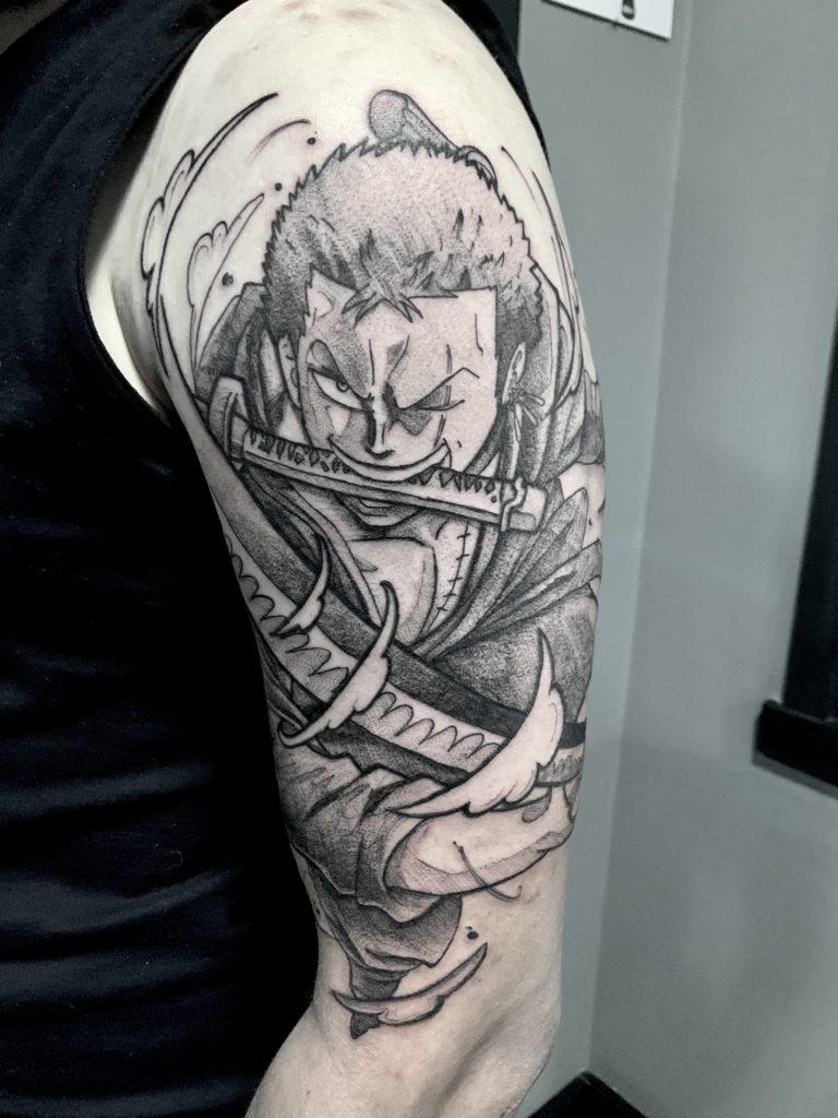 Foto de tatuagem feita por Guilherme Vargas tattoo (@guilhermevargastattoo)