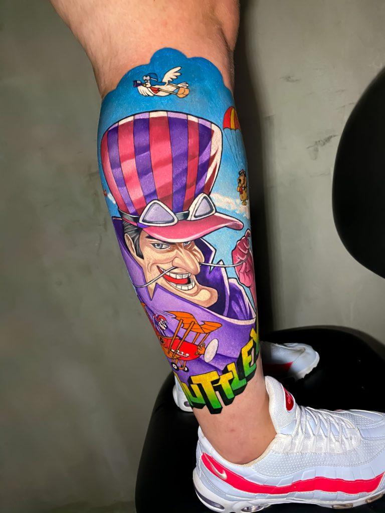 Foto de tatuagem feita por Beto Fernandes (@betofernandesz_)