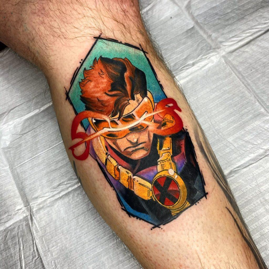 Foto de tatuagem feita por Lucas Gomes (@lucasgomesart)