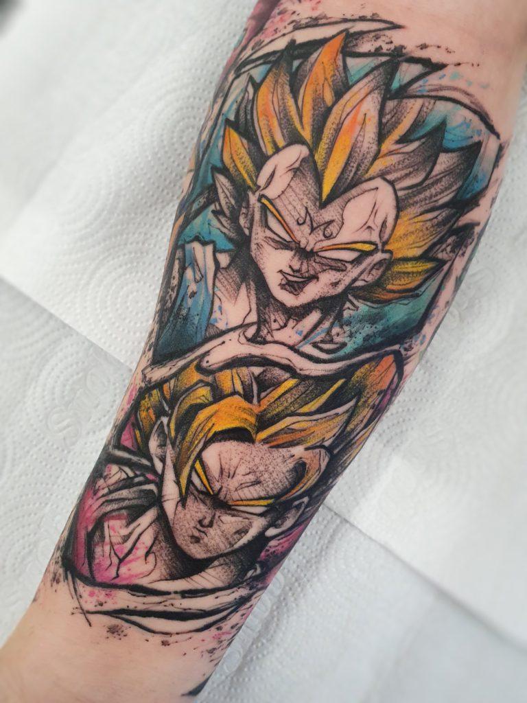 Foto de tatuagem feita por Inou (@inoutattoo)