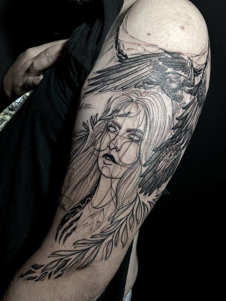 Foto de tatuagem feita por Nathann Tattoo (@nathann.tattoo)
