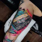 Foto de tatuagem feita por Gui Moraes (@guimoraesz)