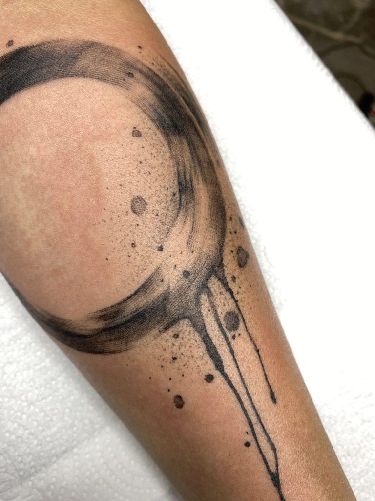 Foto de tatuagem feita por Bruno Cavalcanti (@brunocavalcantips)