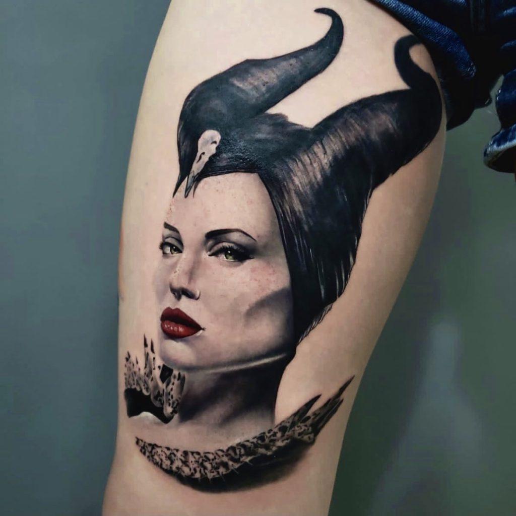 Foto de tatuagem feita por Fábio Carraro (@fabiocarrarotattoo)