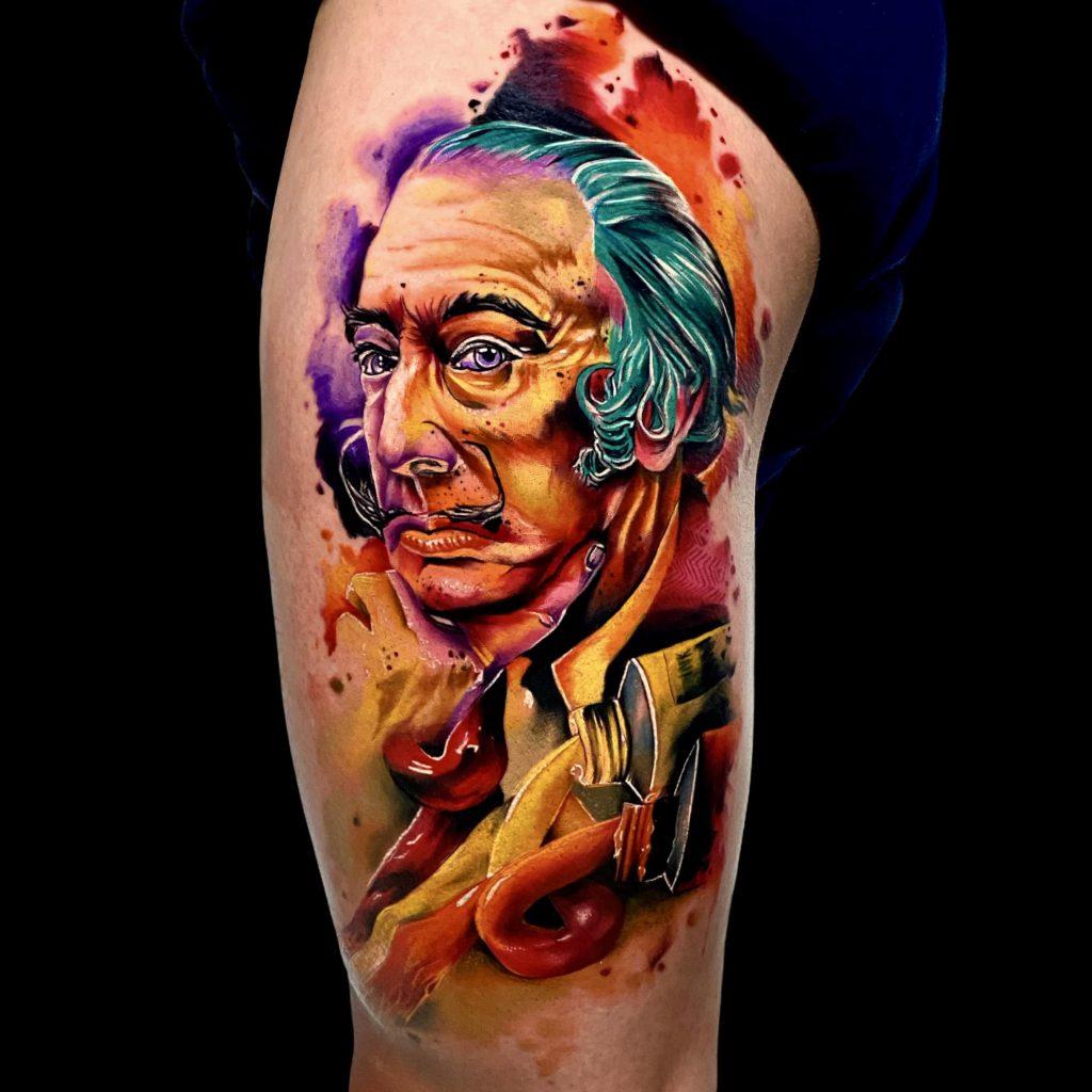 Foto de tatuagem feita por André Lucas Ramos (@andrelucasramostattoo)
