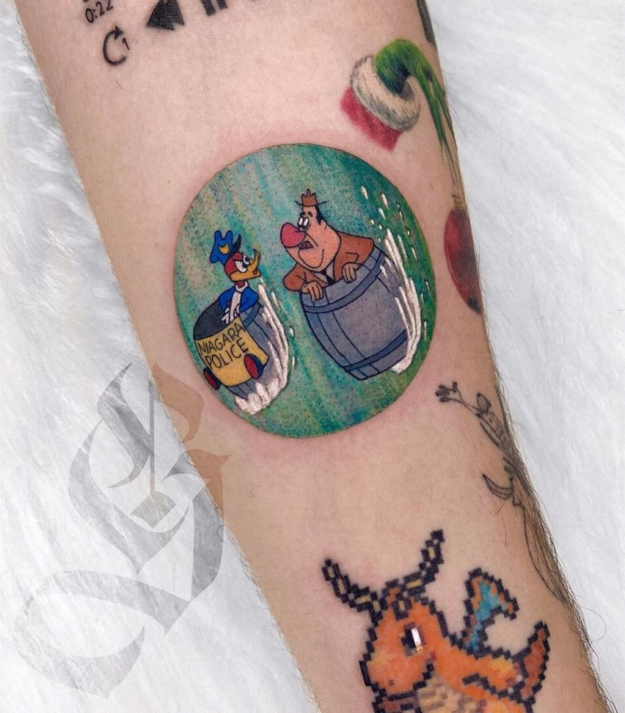 Foto de tatuagem feita por Grasi Pavani (@grasipavani)