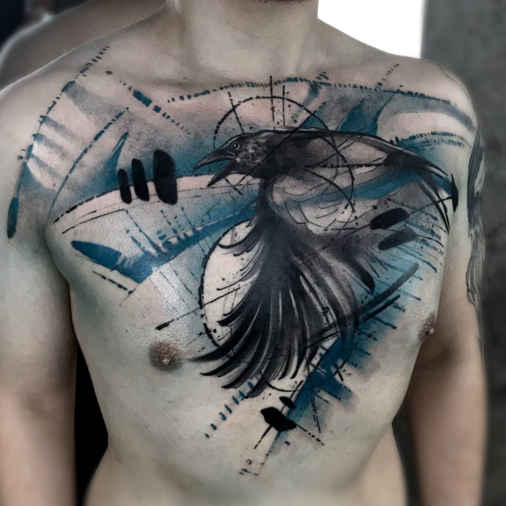 Foto de tatuagem feita por Marco Medeiros (@artepormarco)