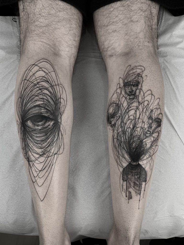 Foto de tatuagem feita por (@rodrigofernandx)