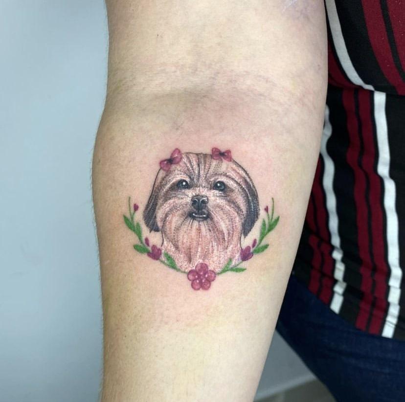 Foto de tatuagem feita por Isabela Silva (@isasilvatt)