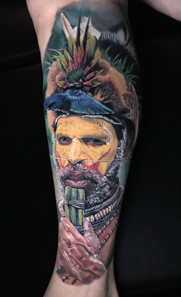 Foto de tatuagem feita por Marcelo Ribeiro (@marceloribeirotattooyou)
