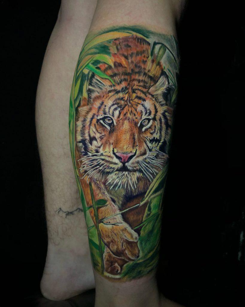 Foto de tatuagem feita por Amanda Ketlen (amandatattooart) (@amandatattooart)