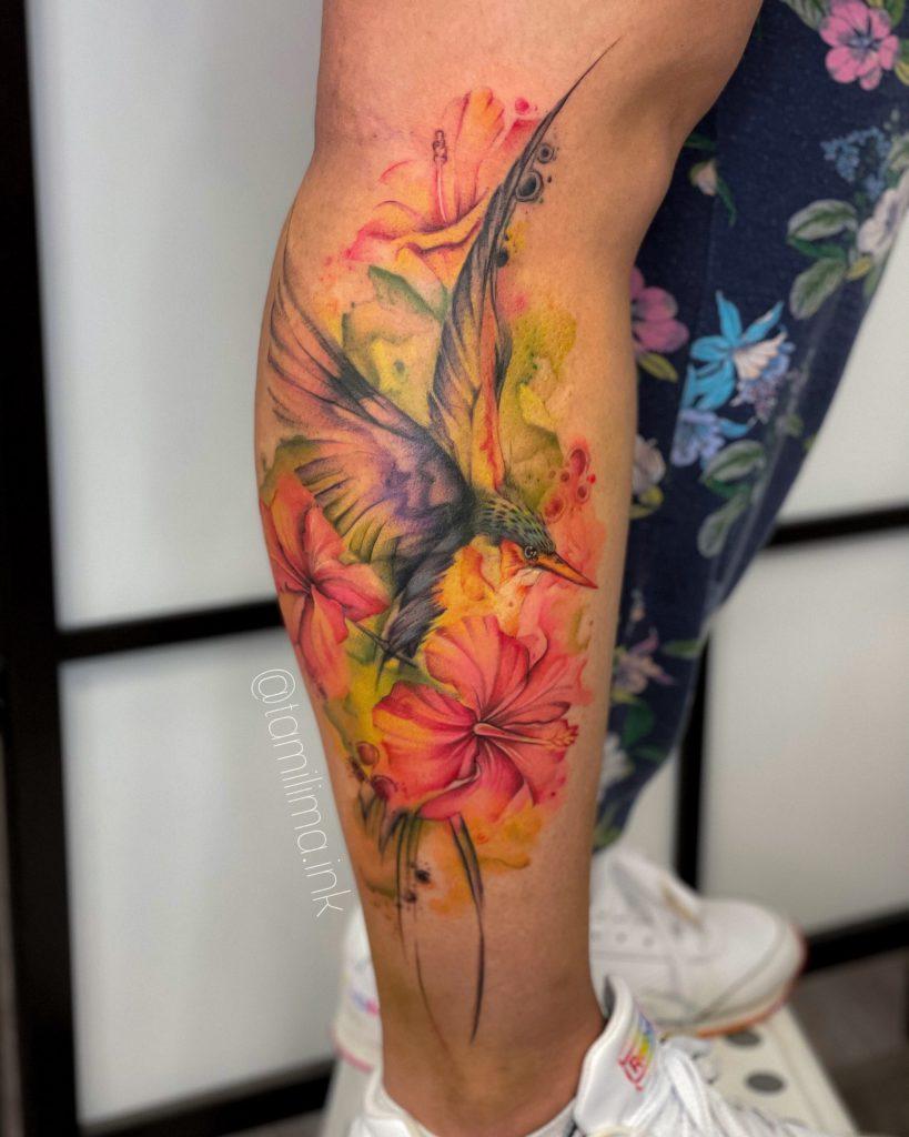 Foto de tatuagem feita por Tamires Lima (@tamilima.ink)