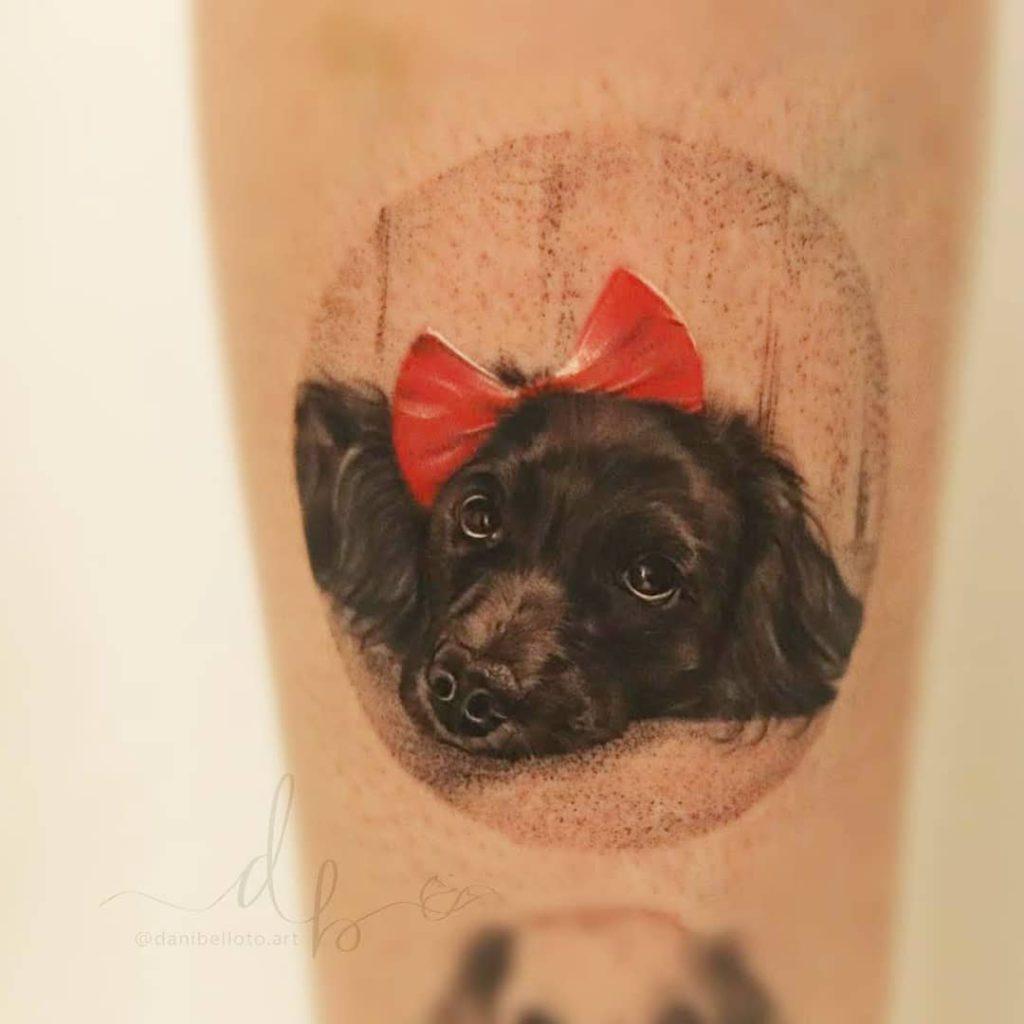 Foto de tatuagem feita por Dani Belloto (@danibelloto.art)