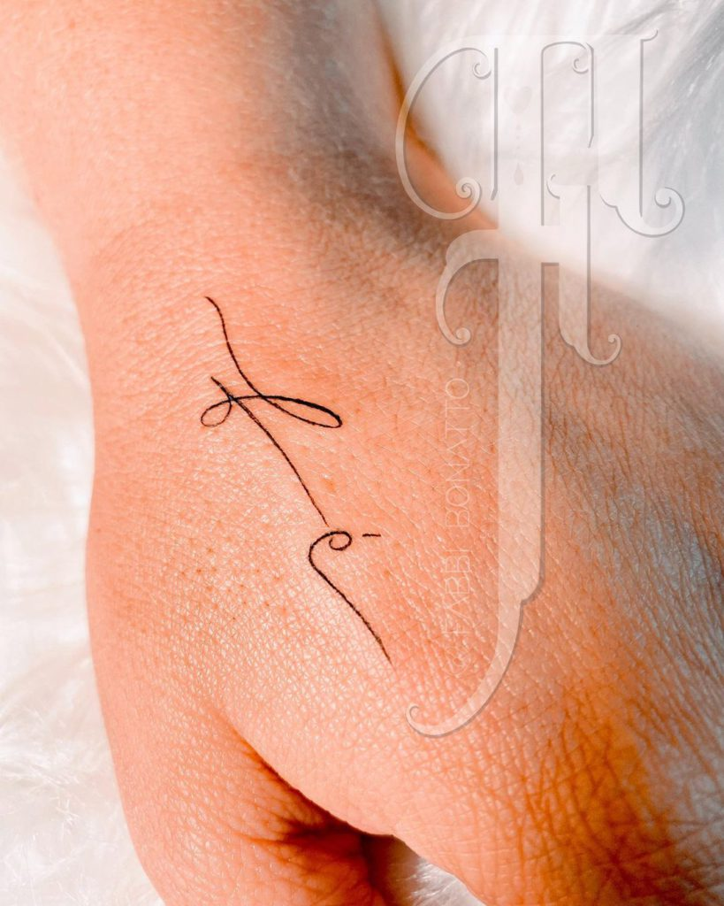 Foto de tatuagem feita por Fabbi Bonatto (@fabbibonatto)