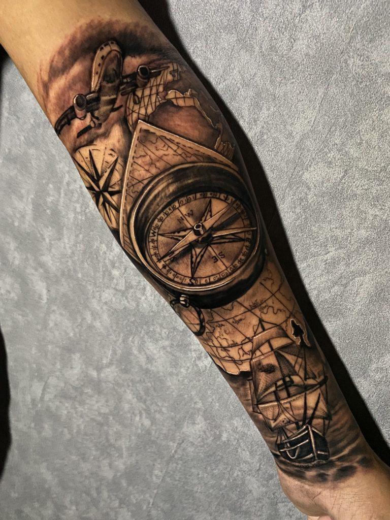 Foto de tatuagem feita por Guina tattoo 13 (@guina_tattoo13)