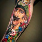 Foto de tatuagem feita por Richard Arthur (@richard.arthur.tattoo)
