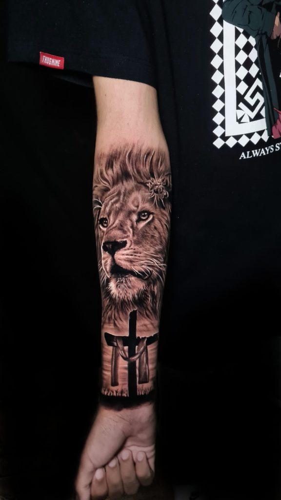 Foto de tatuagem feita por Lucas Maia (@lucasmaia.c)