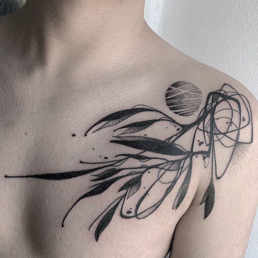 Foto de tatuagem feita por Hugo Kashihara (@hugo_kashihara)