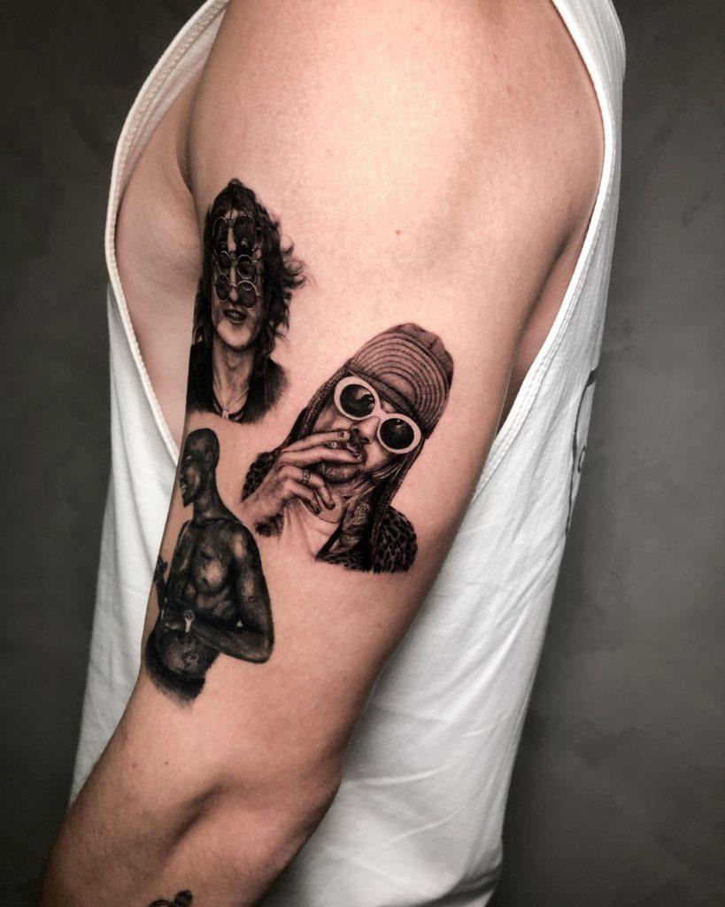 Foto de tatuagem feita por Julian Magossi (@julianmagossi_tattoo)