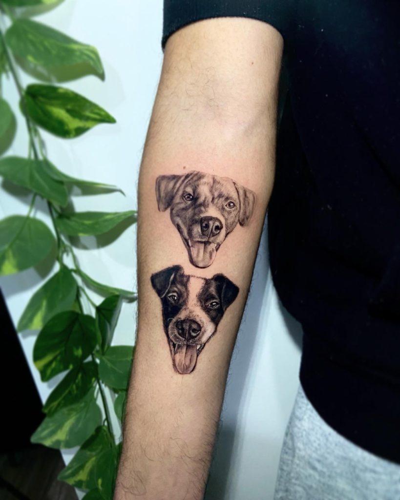 Foto de tatuagem feita por Juliana Dewes (@julianadewestattoo)