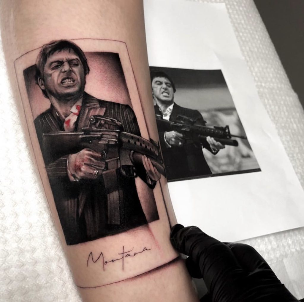 Foto de tatuagem feita por Fidel Teles (@ftelestattoo)