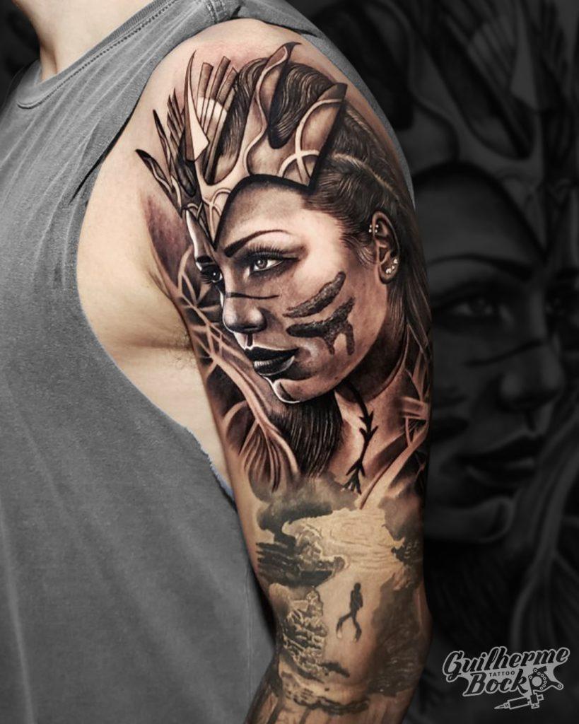 Foto de tatuagem feita por GUILHERME BOCK TATTOO (@guilhermebocktattoo)