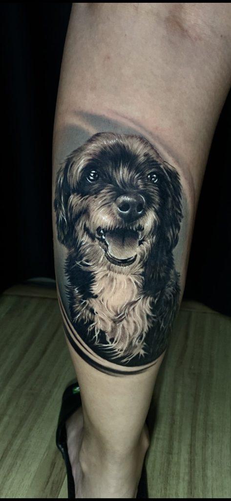 Foto de tatuagem feita por Gui Diniz (@guidiniztattoo)