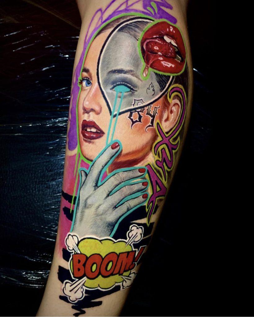 Foto de tatuagem feita por Jaka Tattoo Studio (@jakatattoostudio)
